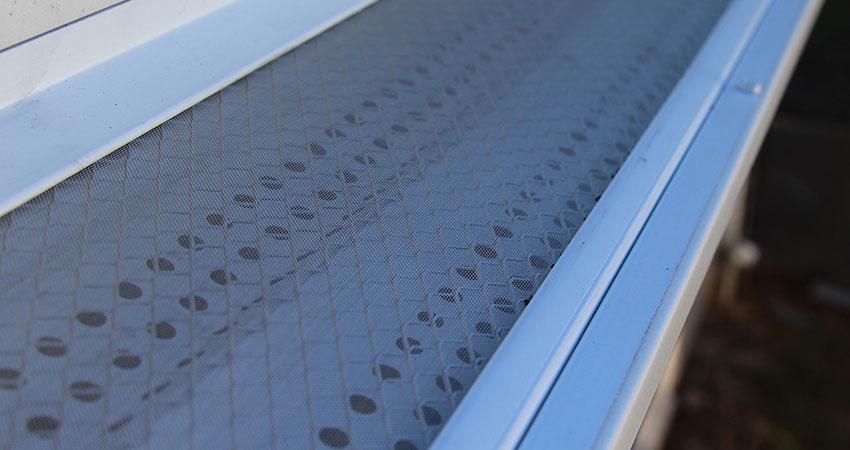 micro mesh gutter guard