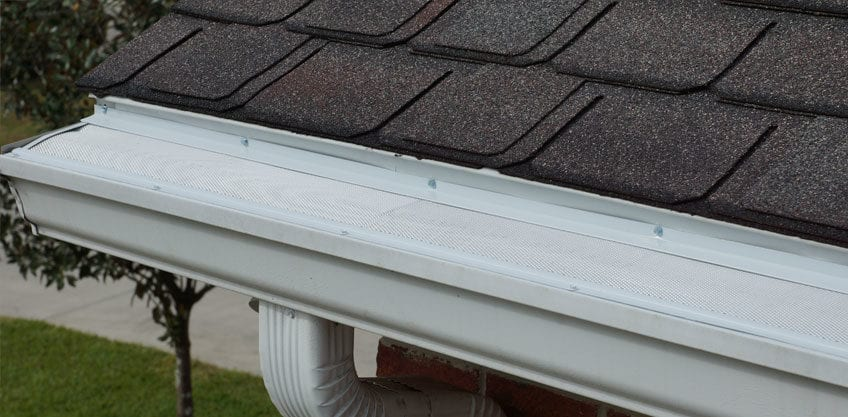 micro mesh gutter guards