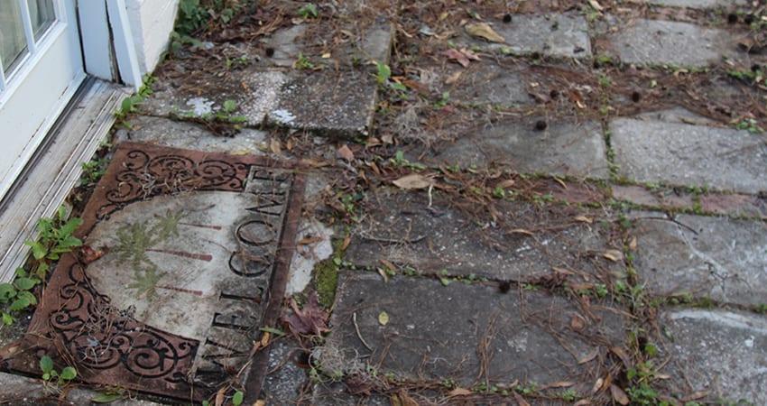 prevent-sidewalk-staining